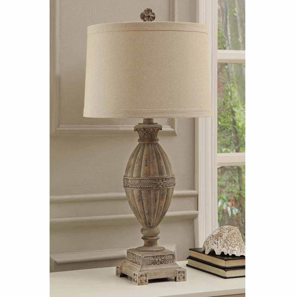 Crestview Collection Mccoy Sand Table Lamp CRST-CVAVP169