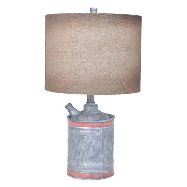 Crestview Collection Antique Filler Up Table Lamp CRST-CVAVP348