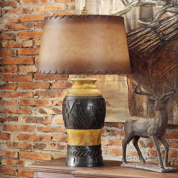 Crestview Collection Reservation Antique Table Lamp CRST-CVAVP419