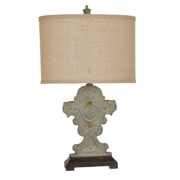 Crestview Collection Rowsell Antique Table Lamp CRST-CVAVP446