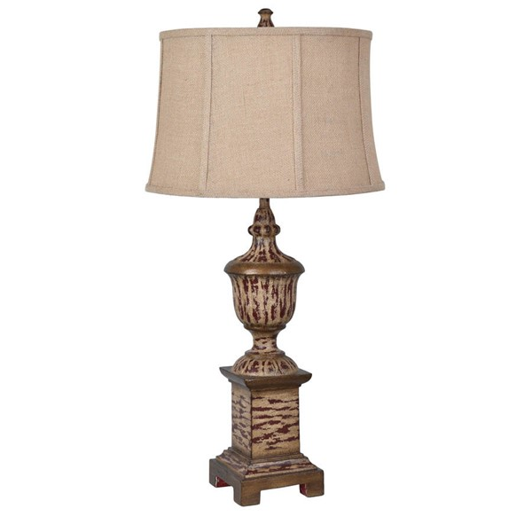 Crestview Collection Antique French Heritage Table Lamp CRST-CVAVP517B
