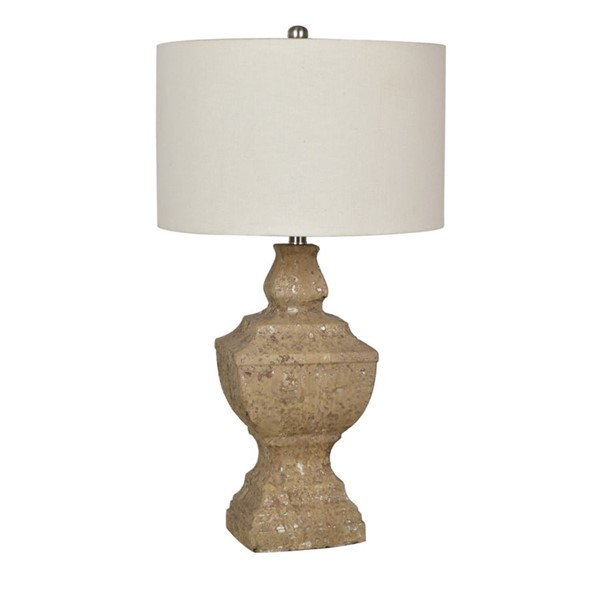 Crestview Collection Stone County Natural Table Lamp CRST-CVAVP771