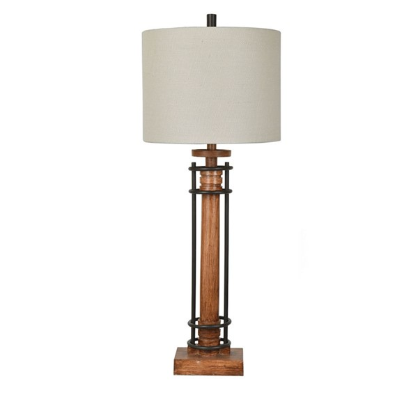 Crestview Collection Garson Natural Table Lamp CRST-CVAVP827