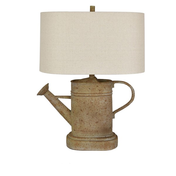 Crestview Collection Oatmeal Watering Can Table Lamp CRST-CVAVP999