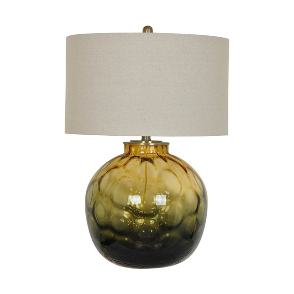 Crestview Collection Tuscany Dark Green Table Lamp CRST-CVAZBS008