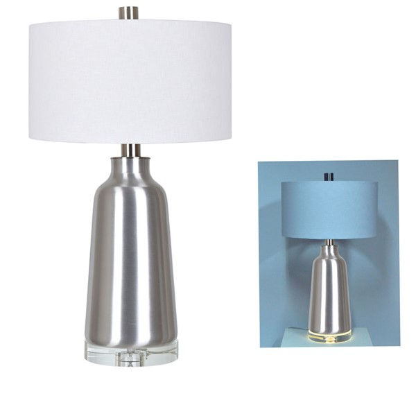 Crestview Collection Lane White Table Lamp CRST-CVAZBS039