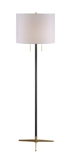 Crestview Collection Veda White Floor Lamp CRST-CVAZER051