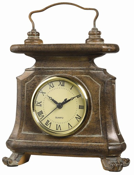 Crestview Collection Winston Leather Wall Clock CRST-CVCKA085
