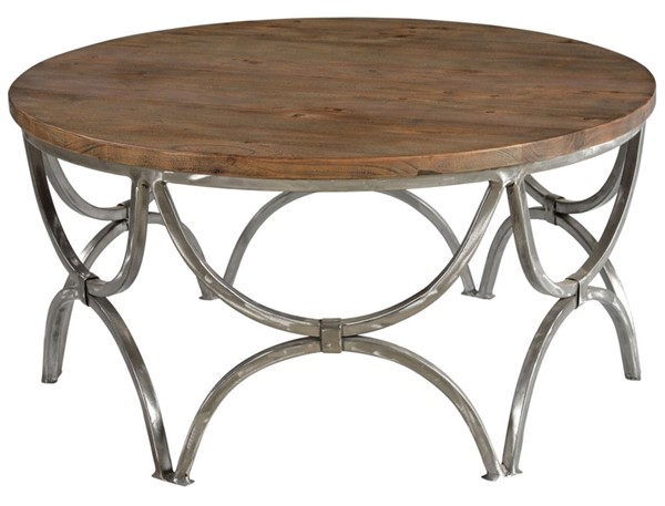 Crestview Collection Bengal Manor Wood Round Cocktail Table CRST-CVFNR363