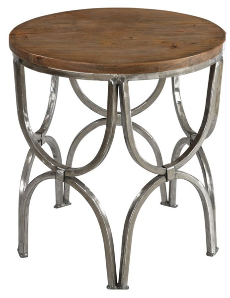 Crestview Collection Bengal Manor Wood Round End Table CRST-CVFNR364