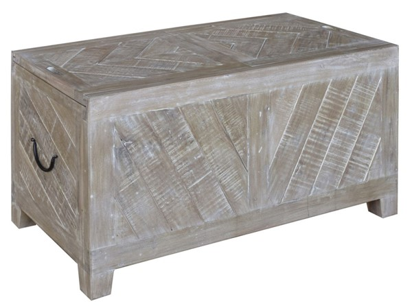 Crestview Collection Bengal Manor Light Mango Wood Cocktail Table CRST-CVFNR369