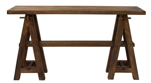 Crestview Collection Bengal Manor Coffee Wood Console Table CRST-CVFNR424