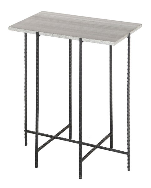 Crestview Collection Bengal Manor Grey Accent Table CRST-CVFNR484