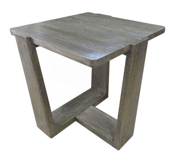 Crestview Collection Bengal Manor Mango Wood Tri Leg End Table CRST-CVFNR665