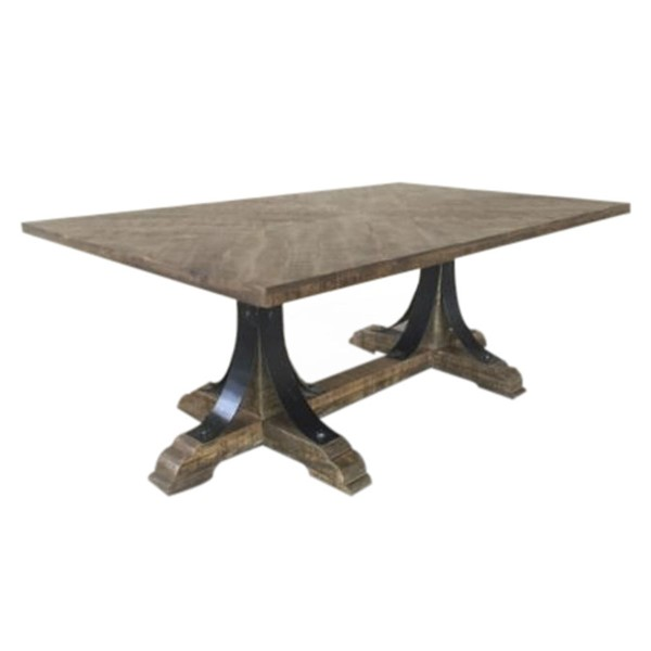 Crestview Collection Bengal Manor Mango Wood Rectangle Cocktail Table CRST-CVFNR667