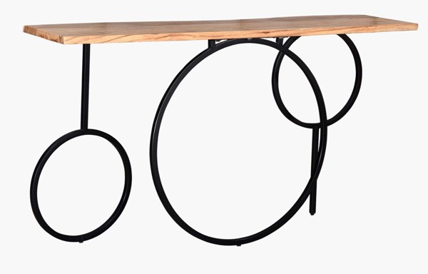 Crestview Collection Harmony Wood Console Table CRST-CVFNR759