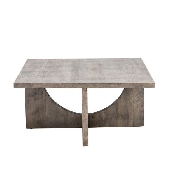 Crestview Collection Glenridge Charcoal Grey Square Cocktail Table CRST-CVFNR785