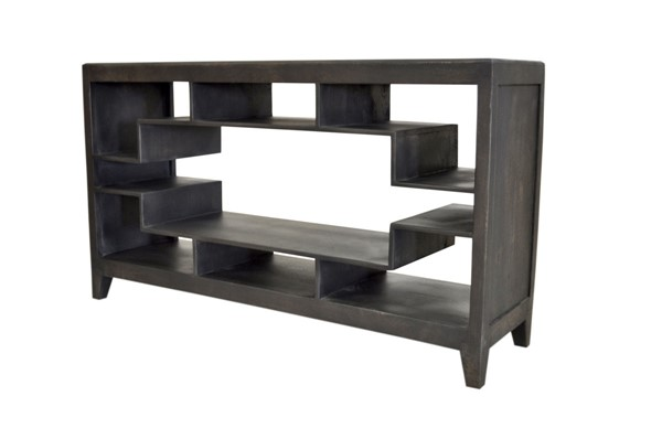 Crestview Collection Butler Grey Display Console Table CRST-CVFNR893