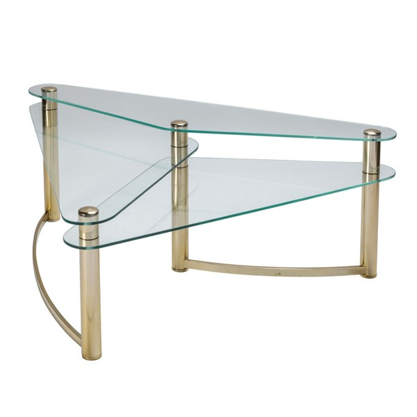 Crestview Collection Brighton Gold Coffee Table CRST-CVFNR930