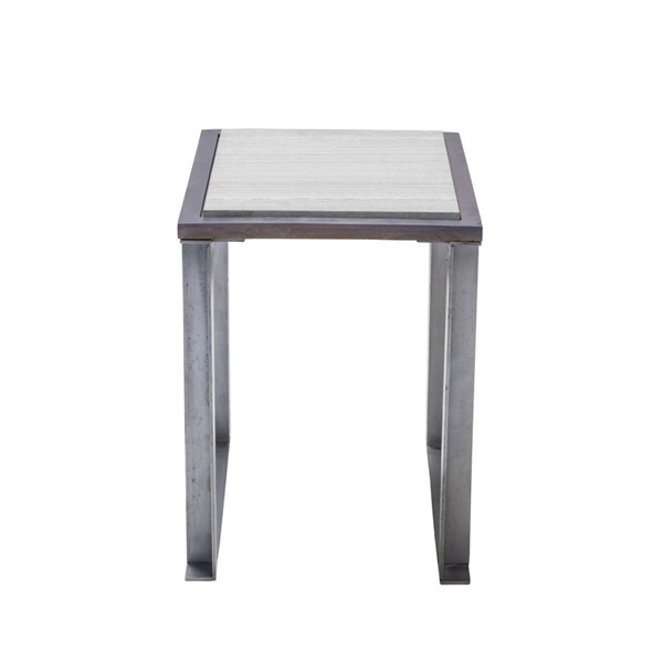 Crestview Collection Glendale Iron End Table CRST-CVFNR933