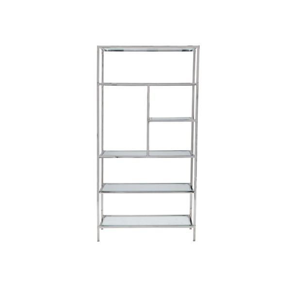 Crestview Collection Cromwell Glass Bookcases CRST-CVFNR936