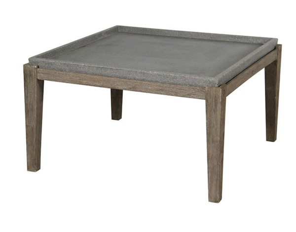 Crestview Collection Amara Weathered Oak Cocktail Table CRST-CVFVR0014
