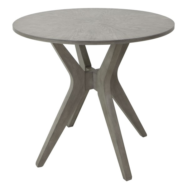 Crestview Collection Hawthorne Estate Maple Driftwood Accent Table CRST-CVFVR8153