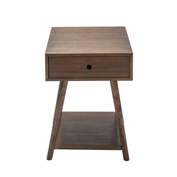 Crestview Collection Gibson Acacia Wood End Table CRST-CVFVR8211