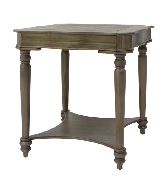 Crestview Collection Ashford Chess Board Top End Table CRST-CVFVR8232