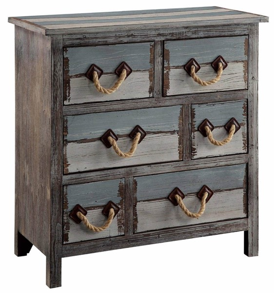 Crestview Collection Nantucket Weathered Drawer Chest CRST-CVFZR1244