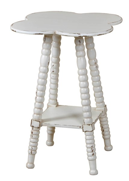 Crestview Collection Clover Shaped Accent Table CRST-CVFZR1485