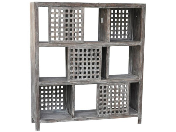 Crestview Collection Black Solid Wood Wall Unit CRST-CVFZR299