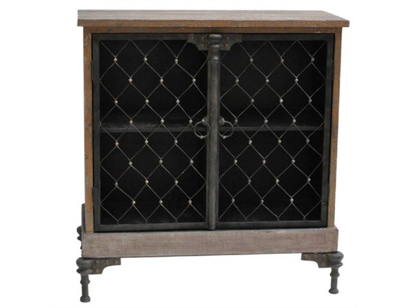 Crestview Collection Orleans Antique Blue Cabinet The