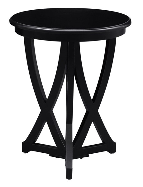 Crestview Collection Duvall Black Accent Table CRST-CVFZR3503