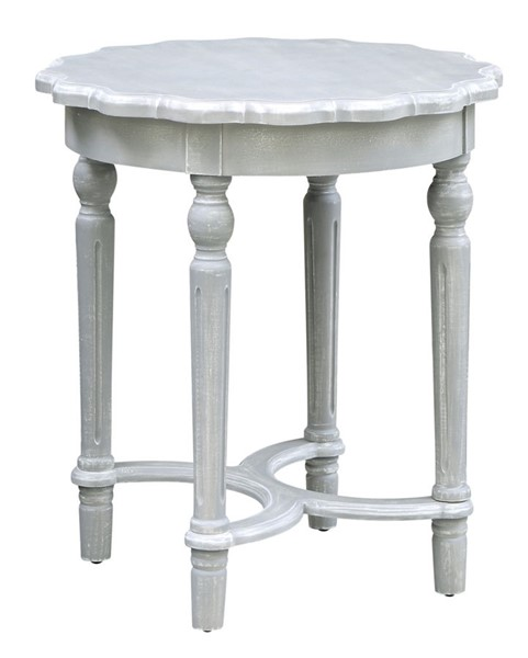 Crestview Collection Pembroke Grey Accent Table CRST-CVFZR3530