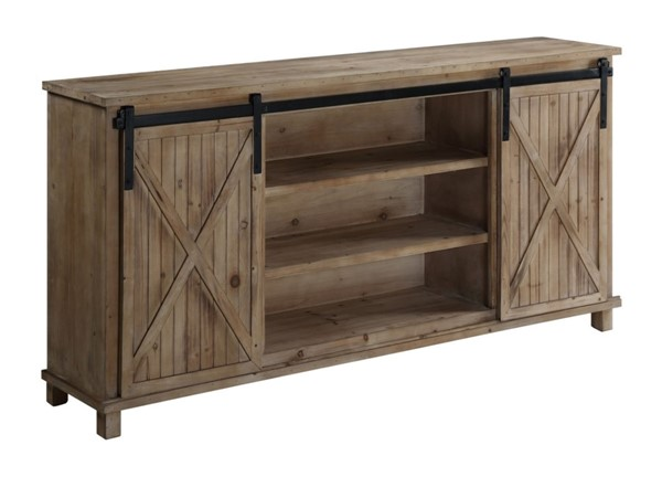 Crestview Collection La Salle Wood Media Console CRST-CVFZR3547