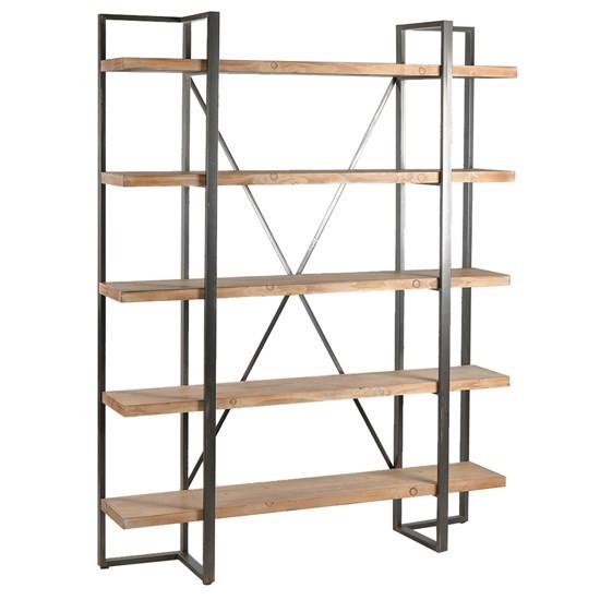Crestview Collection Preston Wood 5 Tier Etagere CRST-CVFZR3572