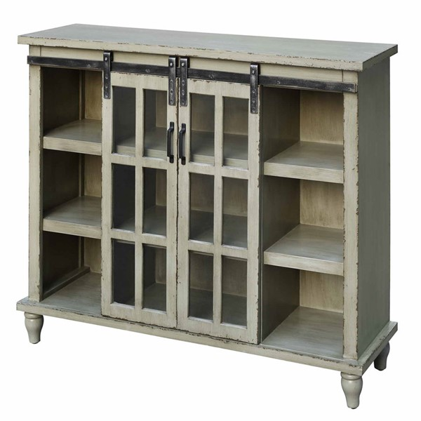 Crestview Collection Peyton Grey Console Table CRST-CVFZR4056