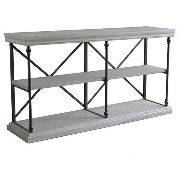 Crestview Collection Hanover White Console Table CRST-CVFZR4548