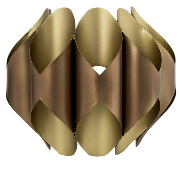 Crestview Collection Hilliard Rose Gold Wall Sconce CRST-CVIDZA004