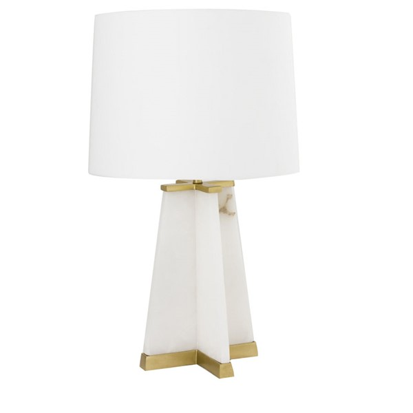 Crestview Collection Schyler Rose Gold White Table Lamp CRST-CVIDZA005