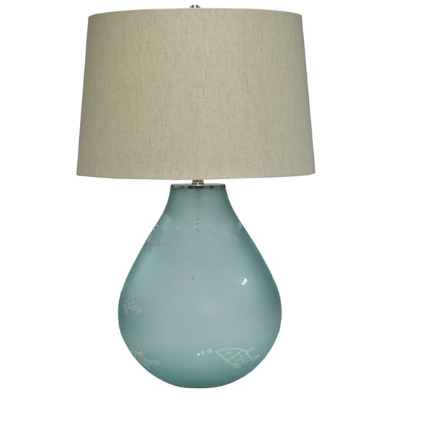 Crestview Collection Fisher Fabric Table Lamp CRST-CVIDZA019