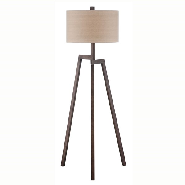 Crestview Collection Grey Washed Table Lamp CRST-CVLZY005