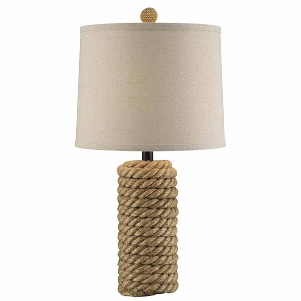 Crestview Collection Natural Rope Bolt Table Lamp CRST-CVNAM695