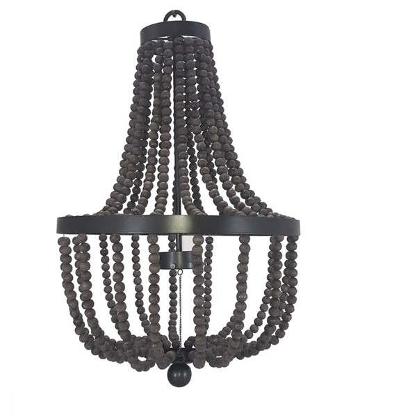 Crestview Collection Nealy Grey Bronze Pendant Lamp CRST-CVPDN005