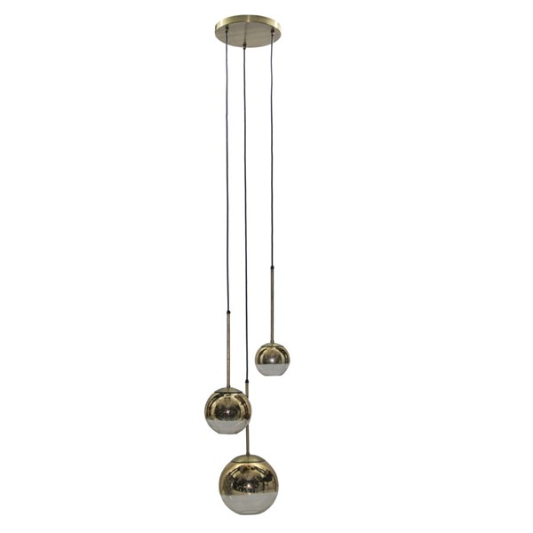 Crestview Collection Nix Antique Pendant Lamp CRST-CVPZDN001