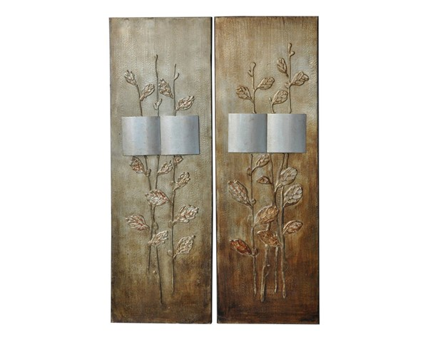 Crestview Collection Staver I and II 2pc Wall Art CRST-CVTOP1231