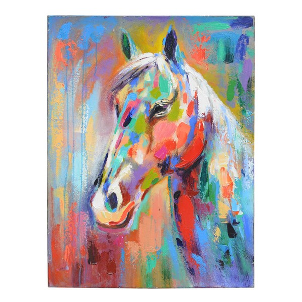 Crestview Collection Chip Hand Painted Canvas Wall Art CRST-CVTOP1996