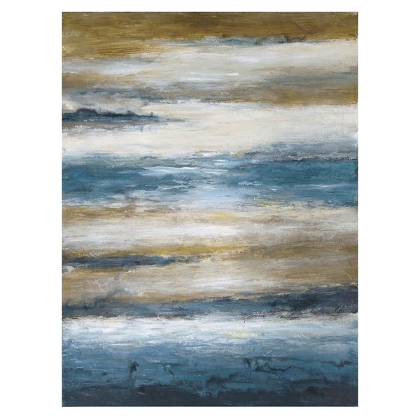 Crestview Collection Zone 4 Hand Painted Canvas Wall Art CRST-CVTOP2029