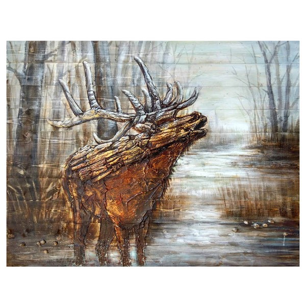 Crestview Collection Wood The Call Wall Art CRST-CVTOP2039